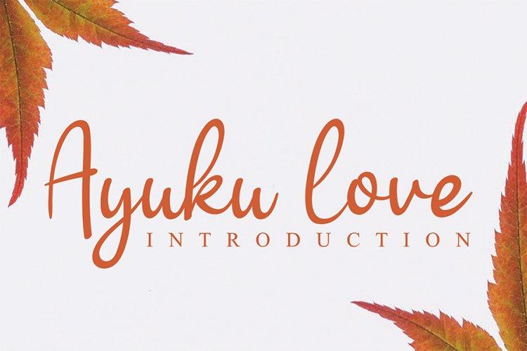 Ayuku love example image 1