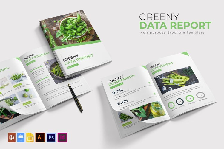Greeny Data | Report Template example image 1