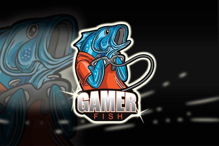 GAMER FISH - Esport Logo