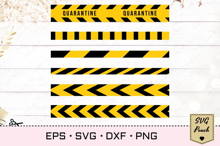 Caution do not cross tape SVG example image 1