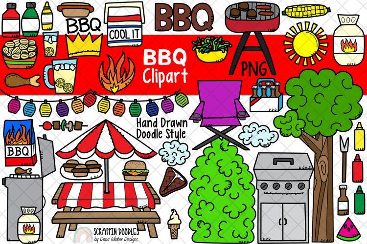 BBQ ClipArt - Barbecue Clipart - Picnic Clipart