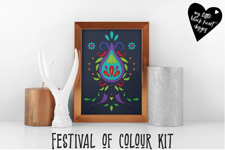 Festival of colour example image 1