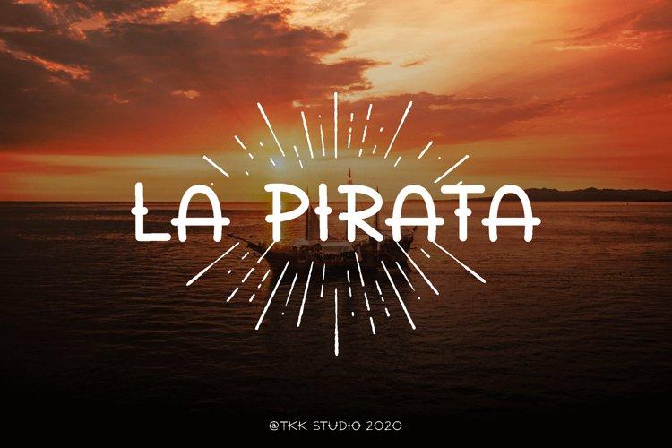 La Pirata - Vintage Tattoo Font example image 1