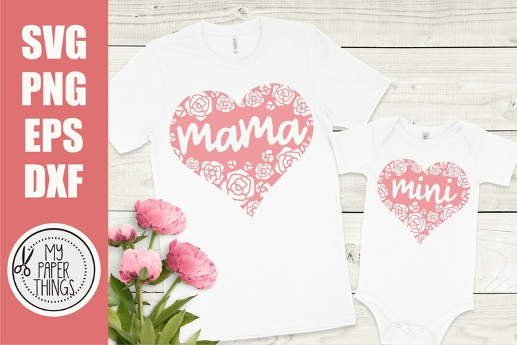 Mommy and me svg Bundle | Mama and mini svg Bundle - Free Design of The Week Design9