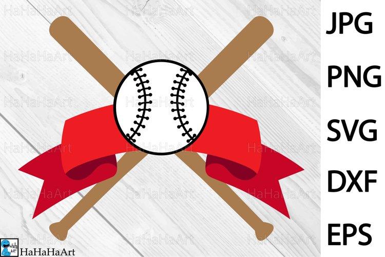 Baseball Design - Clip art / Cutting Files 1329c example image 1
