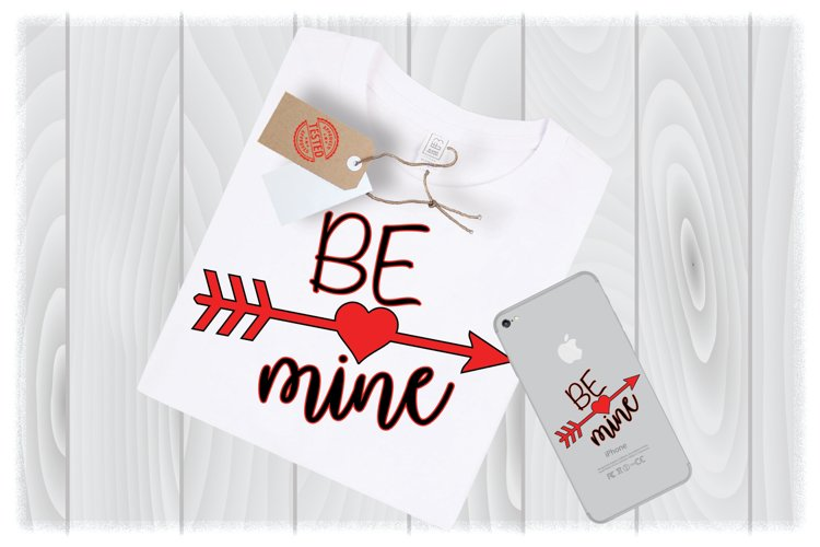 Be Mine SVG Files for Cricut Designs | Valentines Day Svg example image 1