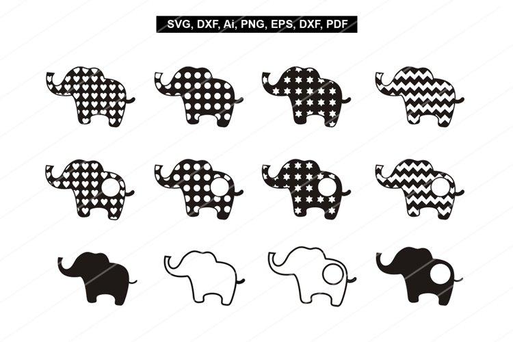 Elephant svg files,Baby elephant print,Svg,Dxf,eps,Png,Pdf