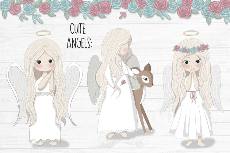 Little angels clipart - Free Design of The Week Design2