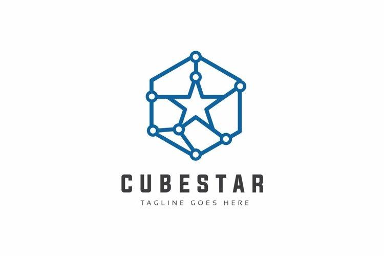Star Tech Logo example image 1