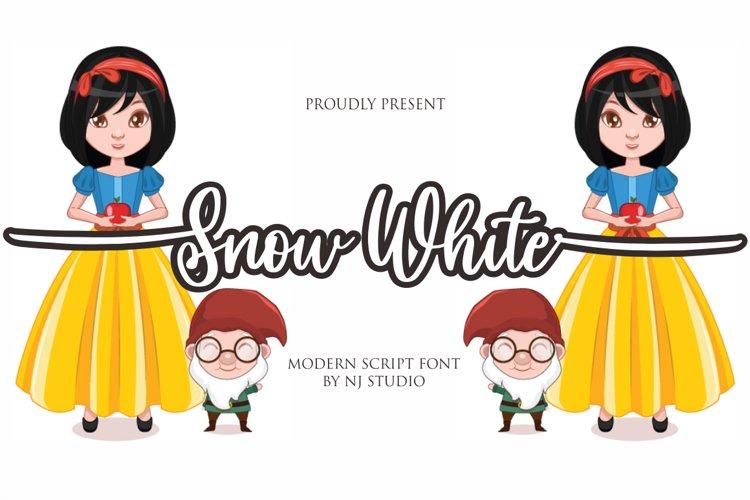Snow White example image 1