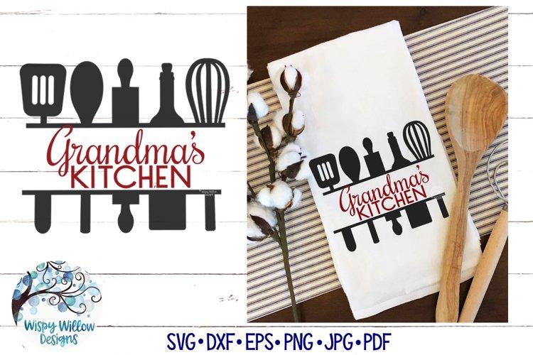 Grandmas Kitchen SVG | Grandma Gift SVG Cut File