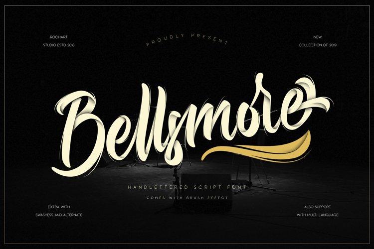 Bellsmore Brush Script example image 1