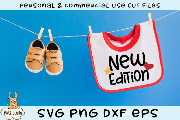 New Edition Baby Bib SVGs example image 1