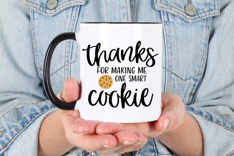 One Smart Cookie svg | Teacher svg | Teacher Gift svg example 3