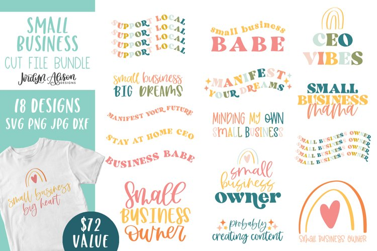 Small Business Owner SVG Bundle