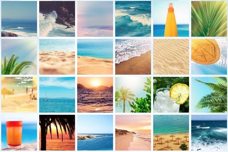 50 Images | Summertime Stock Photo Bundle