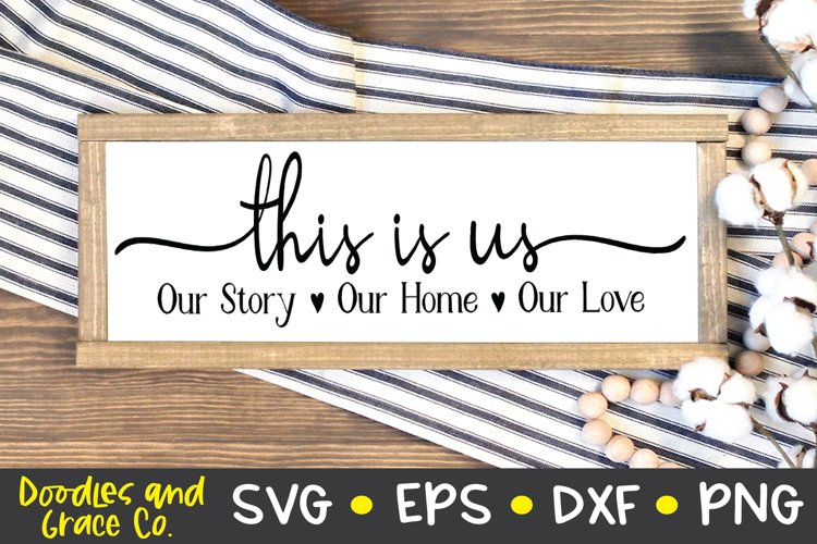This is Us SVG - Family SVG example image 1