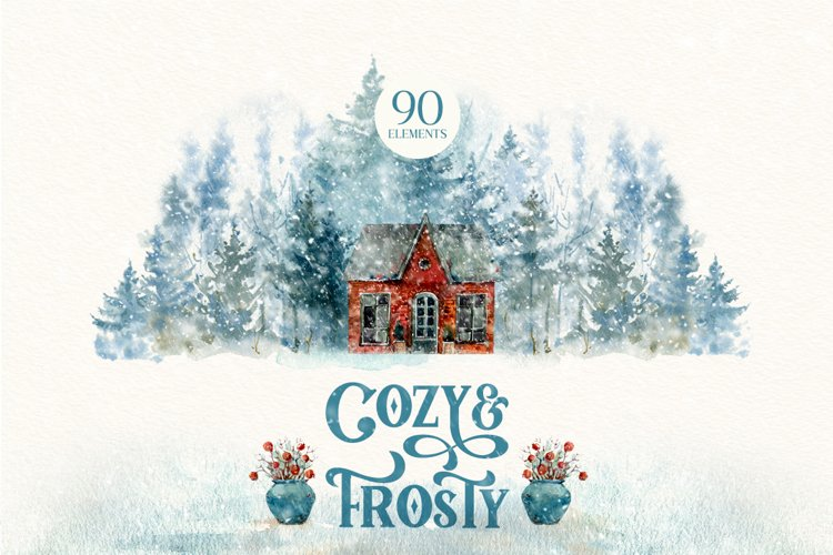 COZY&FROSTY Watercolor set