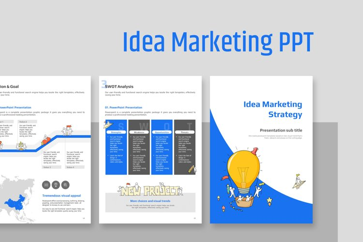 Idea Marketing Strategy Vertical