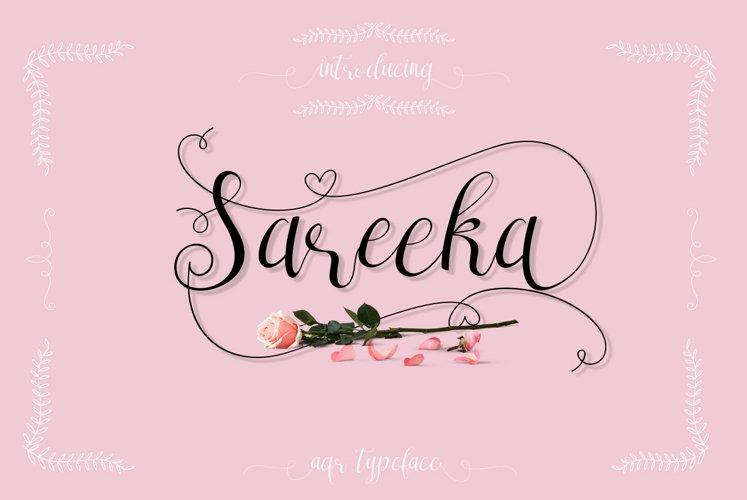 Sareeka Script example image 1