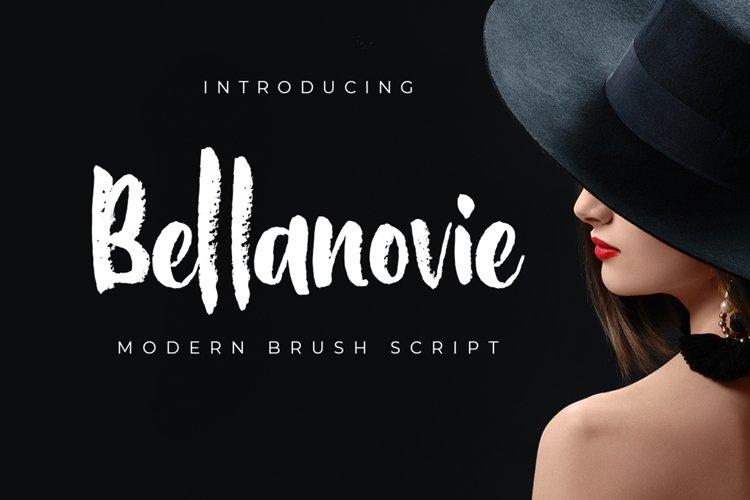 Bellanovie - Web Font