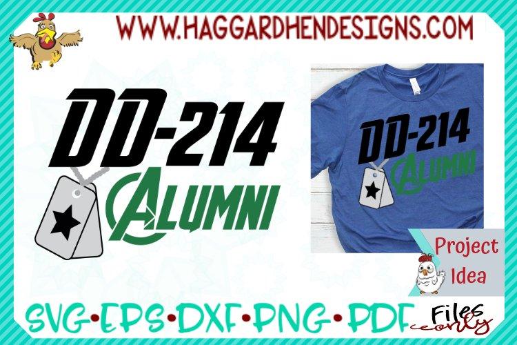 DD-214 Alumni SVG example image 1