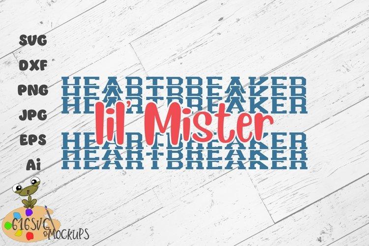 Lil Mister Heartbreaker SVG