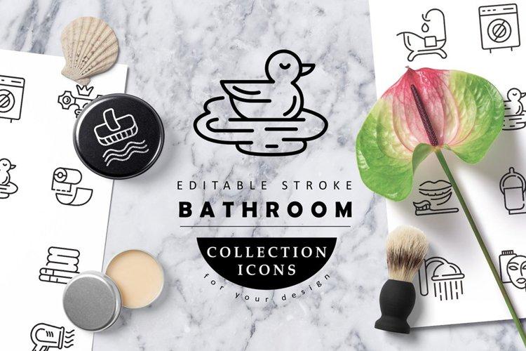 Bathroom & plumbing icons & logos example image 1