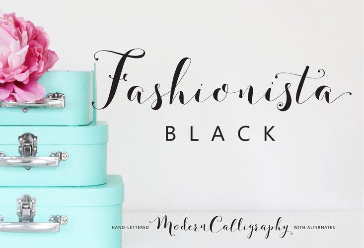 Fashionista Black example image 1