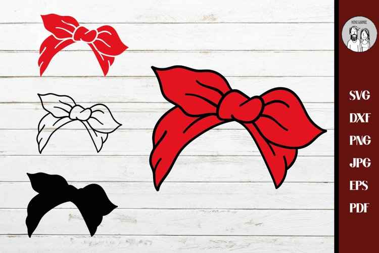 Bandana SVG Bundle | Bandana Clip Art, Red Bandana Svg Layer example image 1