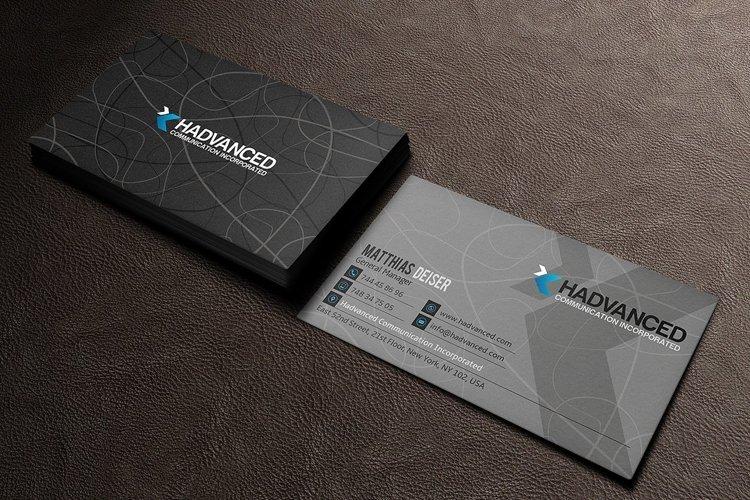 Grey Business Card