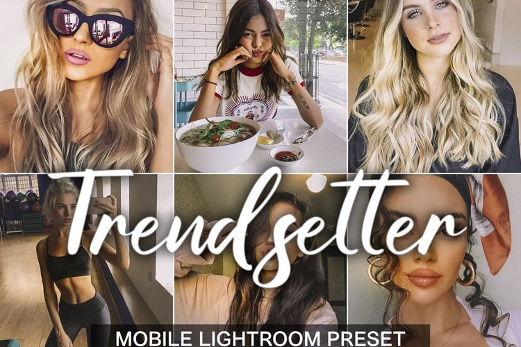 3 Mobile Lightroom Presets TRENDSETTER example