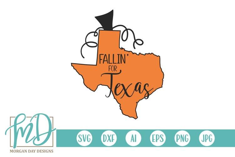 Halloween - Pumpkin State - Fallin For Texas SVG