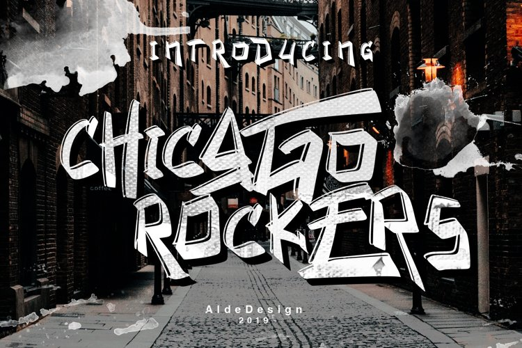 Chicago Rockers - WEB FONT example image 1
