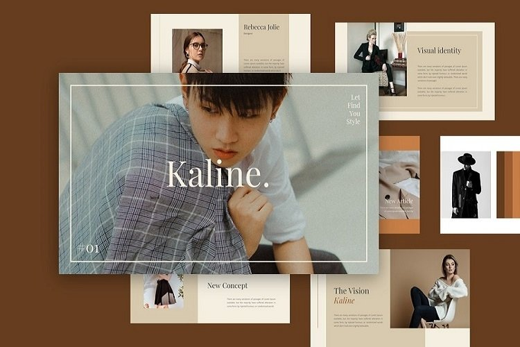 Kaline - Fashion Google SlideTemplate