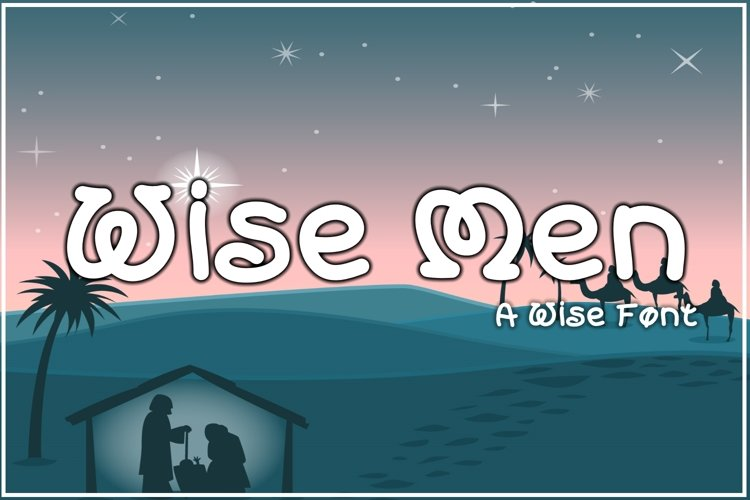 Wise Men example image 1