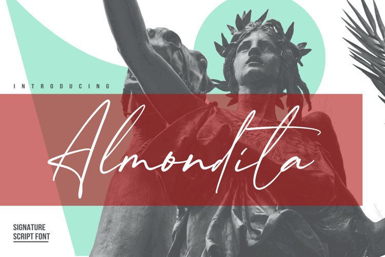 Almondita Signature Script Font example image 1