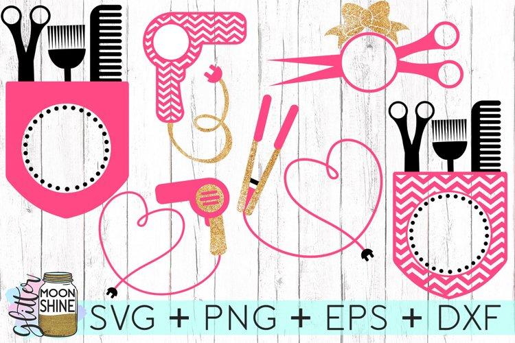 Download Hairstylist Monogram Frames Svg Dxf Png Eps Cutting Files 67528 Svgs Design Bundles