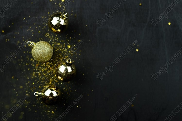 New year or Christmas background example image 1