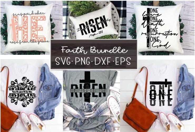 Faith Svg Bundle|Christ Svg Files