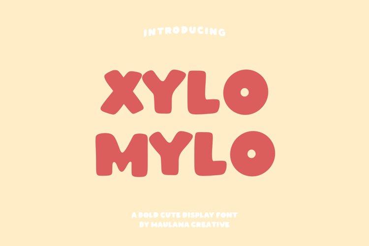 Xylomylo Bold Display Font example image 1