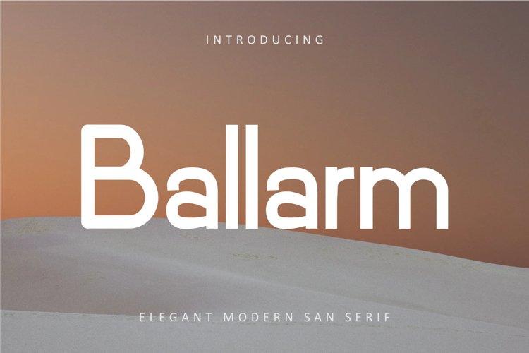Ballarm example image 1