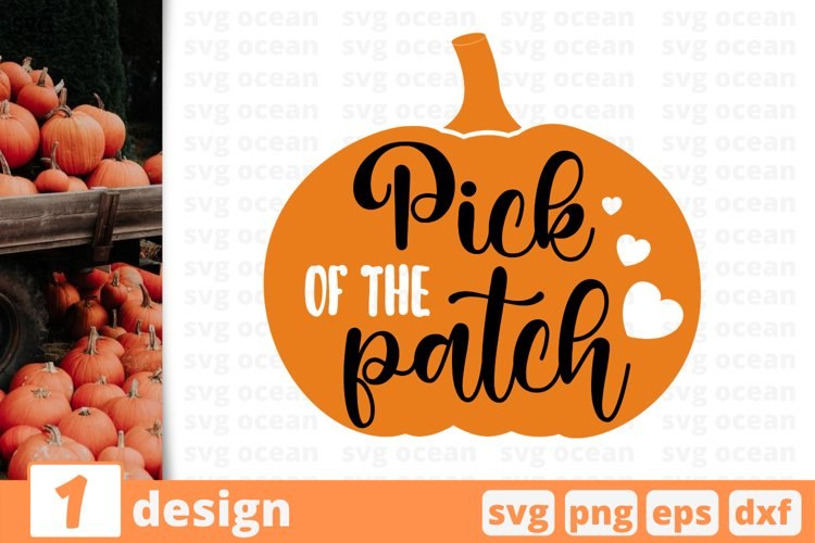 Pick of the patch SVG Cut file| Fall cricut | Autumn quote example image 1