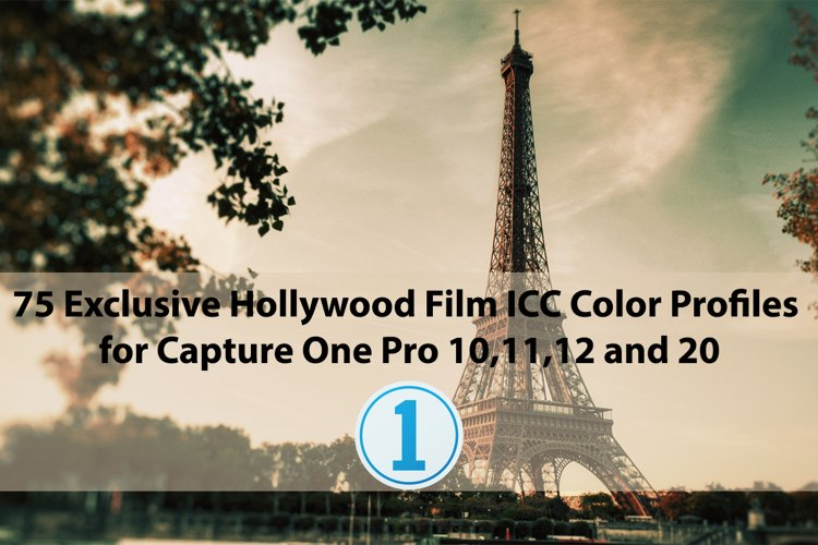 75 Exclusive Hollywood Film ICC Profiles for Capture One example image 1