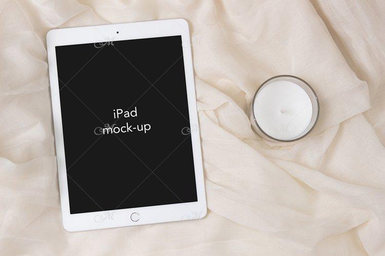 iPad Mock-up, PSD & JPEG, Smart object example image 1