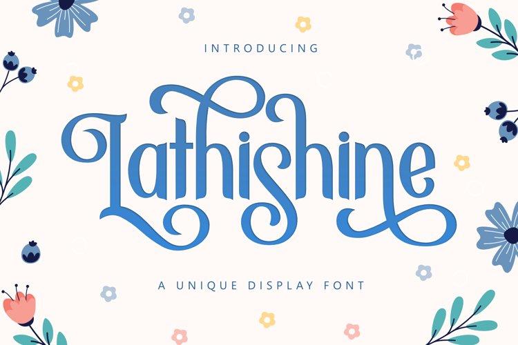 Lathishine example image 1