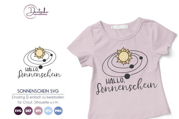 Sonne SVG   Sonnenschein SVG example image 1