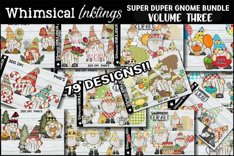Super Duper Gnome Sublimation Bundle THREE