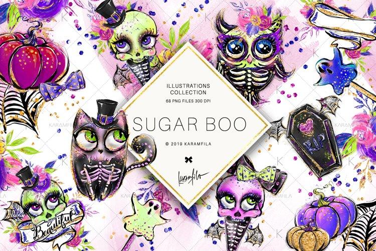 Halloween Clipart, Animal Skulls and Skeletons Clipart
