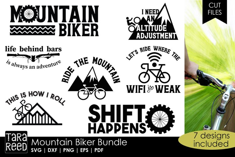 Mountain Biking Bundle example image 1